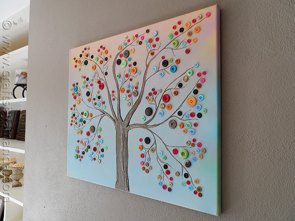 Wunderbar Button Tree 4