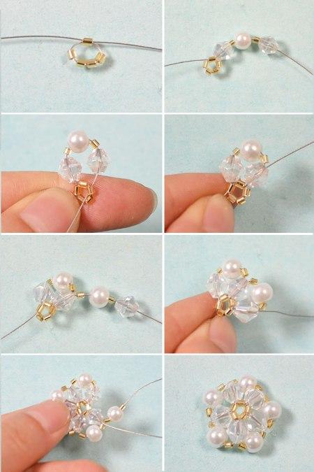 Perlen Armband Designs Wie Man Eine Armband Mit Perlen Blume Zu